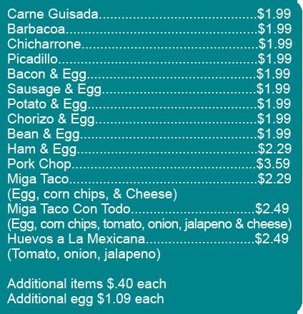 Tacoslisting