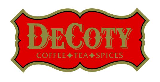 decoty shield logo coffee tea spices